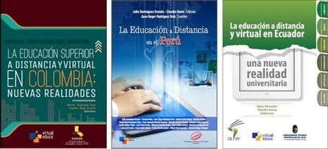 Virtual Educa:  Tres libros de EaD y Virtual - Colombia, Perú y Ecuador | Las TIC y la Educación | Scoop.it