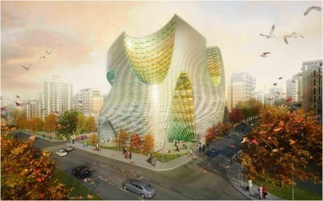 Tehran Stock Exchange Competition Entry / LAVA | The Architecture of the City | Scoop.it