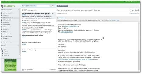 Evernote: Metodología GTD para el profesorado organizado | Observatorio Tecnológico | Habilidades informáticas para docentes | Scoop.it