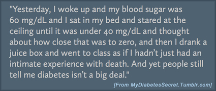 Stigmatized Secrets. - Six Until Me - diabetes blog | diabetes and more | Scoop.it