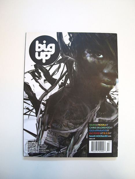 Big Up Cover Illustration by Saad Moosajee | Abduzeedo | Graphic Design Inspiration and Photoshop Tutorials | Photoshop Tutorials | Scoop.it