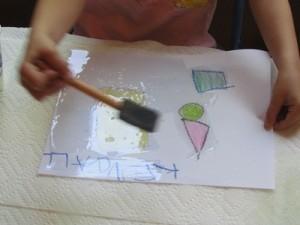 Exploring shapes and oil in preschool | Teach Preschool | Scoop.it