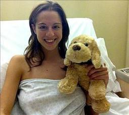 Carolina ya está de vuelta con un tobillo 'nuevo'   Operación y recuperación (2012)   Scoop.it