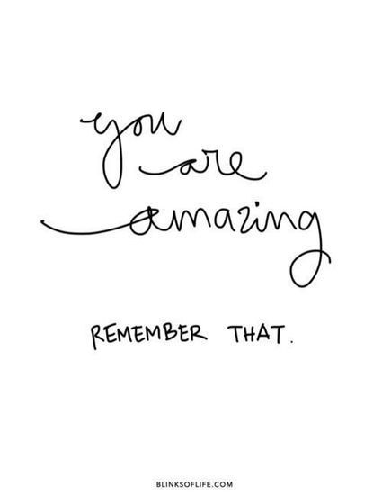 you are amazing|Inspirational Quotes | allwaysbehappy | Scoop.it