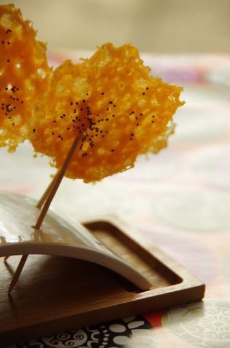 Sucettes de mimolette | The Voice of Cheese | Scoop.it