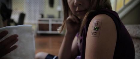 Des tatouages électroniques pour collecter vos données | objets-connectes | Scoop.it