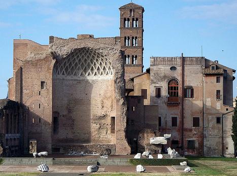 Templo de Venus y Roma | El Panteón romano | Scoop.it