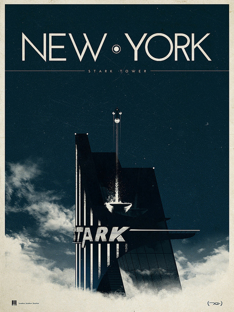 Splendid Illustrated Movie Posters by Justin Van Genderen | youyouk | Scoop.it