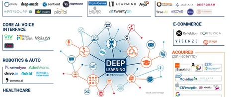 The Deep Learning Market Map: 60+ Startups Working Across E-Commerce, Cybersecurity, Sales, And More | Big Data et analyse prédictive | Scoop.it