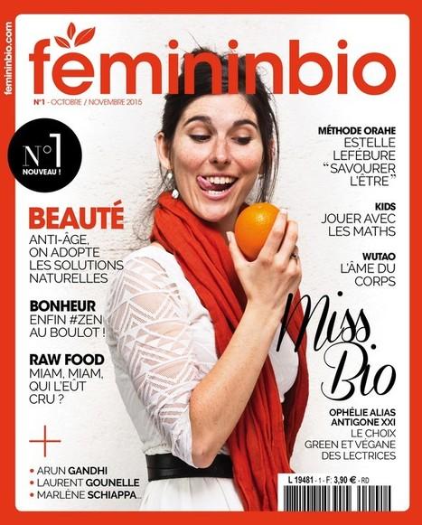 FemininBio.com va se décliner en print | DocPresseESJ | Scoop.it