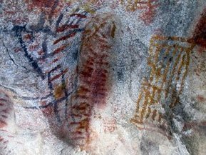 The cave paintings in Baja California are the oldest works of art in the Americas | Baja California | Scoop.it