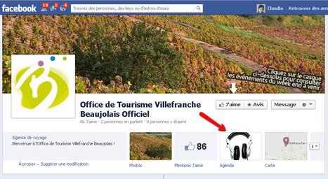 Page Facebook de l'Office de Tourisme Villefranche Beaujolais | Sites qui ont implémenté les Widgets Sitra | Scoop.it