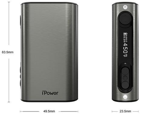 iPower 80W Eleaf - 5000 mAh | Cigarettes électroniques | Scoop.it