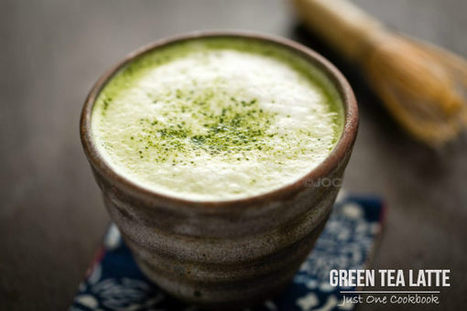 Green Tea Latte 抹茶ラテ | Tips About Different Healthy Food and Drinks | Scoop.it