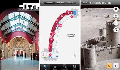 Avec la Cité de l'Architecture, le public peut maintenant mettre 1 000 ans d'architecture dans sa poche | Médias sociaux et tourisme | Scoop.it