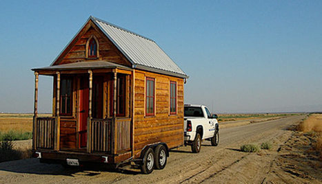 SMALL AND SUSTAINABLE: Review of small and tiny home kits, plans and finished homes   Green Building Canada   Small All Season Homes On Wheels   Scoop.it