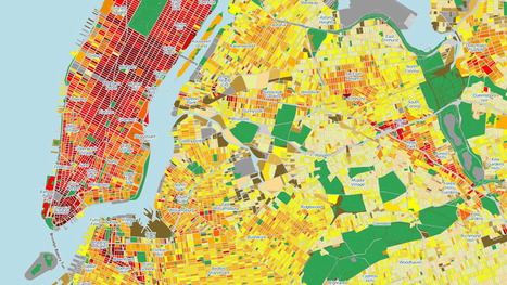 A Map Of Energy Consumption In Every Single NYC Building | Looks -Pictures, Images, Visual Languages | Scoop.it