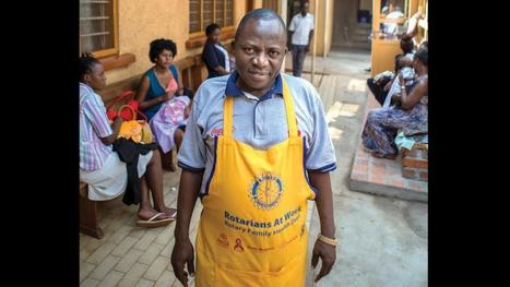 Member spotlight: Stephen Mwanje promotes health care for all in Uganda | My Rotary | Rotary News and Ideas | Scoop.it