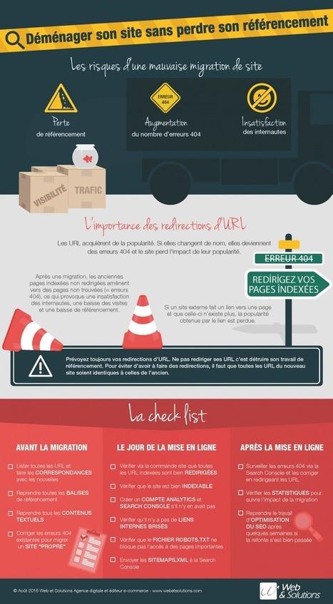 Infographie : Migration de site et SEO - Actualité Abondance | Référencement (SEO) - Réseaux sociaux - WebMarketing | Scoop.it