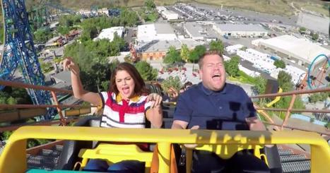 Selena Gomez takes James Corden on a rollercoaster 'Karaoke' ride   SocialPsy.   Scoop.it