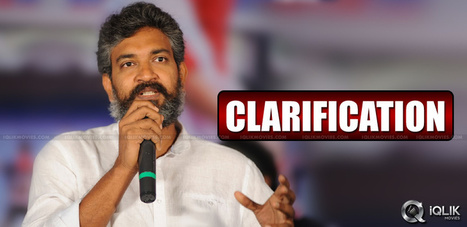 Rajamouli Apology About Prabhas Shoulder Injury | Andhraheadlines | Scoop.it