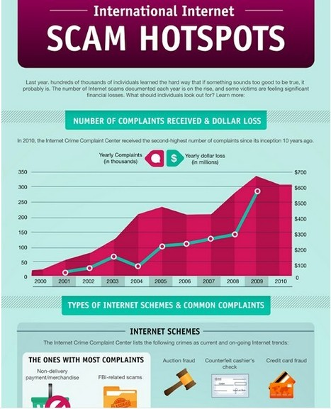 How to Avoid 17 Internet Scams [INFOGRAPHIC] | Information Technology Learn IT - Teach IT | Scoop.it