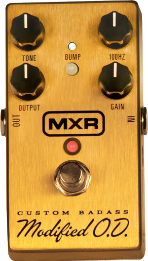 MXR Custom Badass Modified O.D. Pedal | musical instrument | Scoop.it