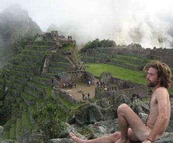 Desnudos en Machu Pichu se ponen de moda   En el Dédalo   Scoop.it