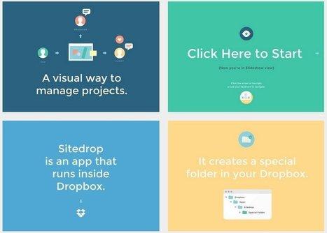 Sitedrop: el camino hacia el blog del futuro   educología   Scoop.it