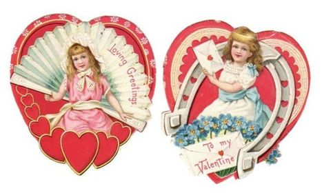 Vintage Valentines - Hearts and Horse Shoes   HorsesOne   Scoop.it