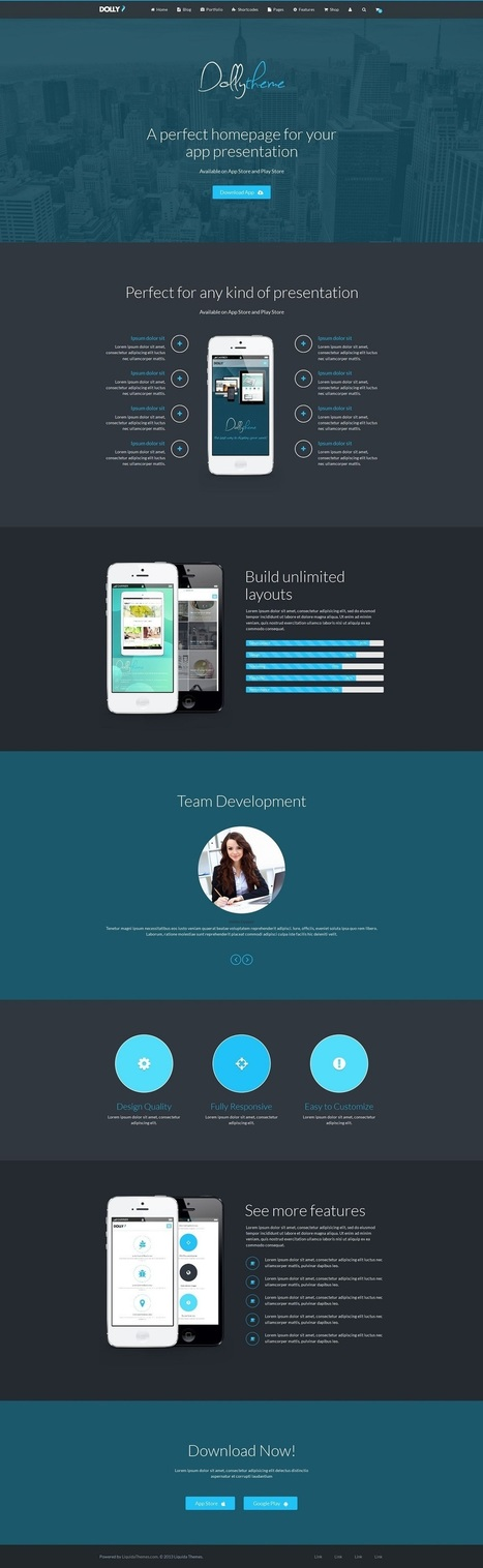 20+ The Most Creative WordPress Themes of 2015   Professional WordPress Themes Designs   Scoop.it