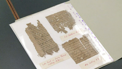 College Finds Ancient Documents in Library - NBC News | Ancient Archeology | Scoop.it