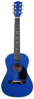 Lauren LA30MBL 30-Inch 1/2-Size Steel String Acoustic Guitar - Metallic Blue | Best Acoustic Guitar Reviews | Scoop.it