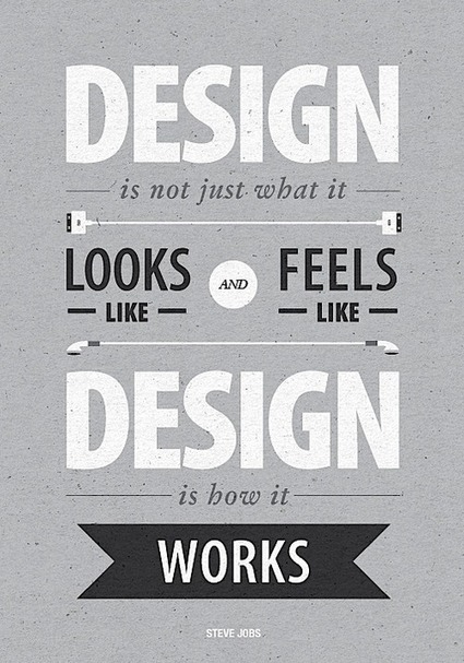 Design is not just what it looks like and feels like. Design is... | Steve Jobs Picture Quotes | Quoteswave | Steve Jobs Quotes | Scoop.it