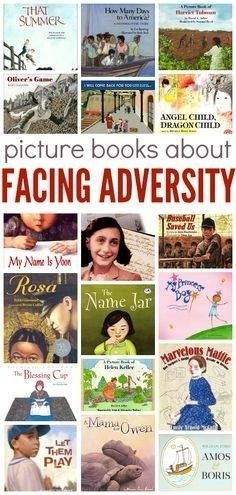 Books About Adversity - No Time For Flash Cards | Integrating curriculum | Scoop.it