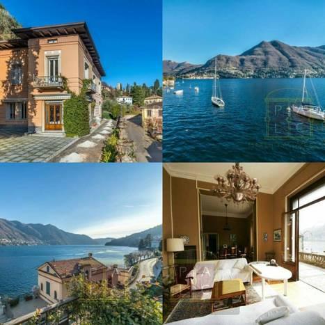Buy Luxury Home at Lake Como - Villa Orlanda for Sale   Villa for Sale Lake Como   Scoop.it
