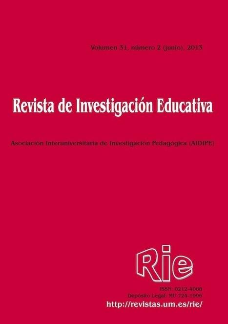 Revista de Investigación Educativa | Investigación Educativa | Scoop.it