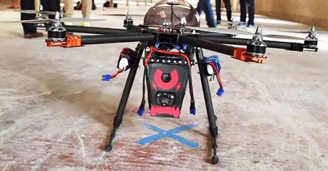 Flying Taser Drone Delivers 80,000 Volts of Paralyzing Fear | Rise of the Drones | Scoop.it