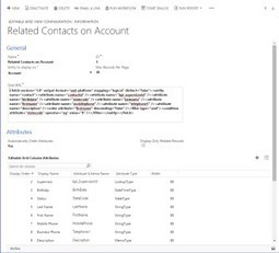 A free customizable Editable Grid for Dynamics CRM 2013/2015! | Microsoft Dynamics CRM On The Road | Scoop.it