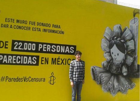 "Amnistía Internacional lanza campaña ""Dona tu muro: Paredes vs La Censura"" 