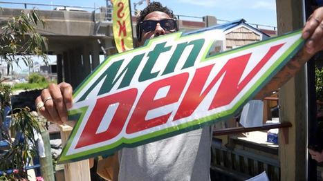 Mountain Dew is a big sponsor for skateboaring   New Era for Skateboarding   Scoop.it