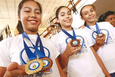 Diana Vásquez logra ganar oro en el Panamericano de Gimnasia Artística