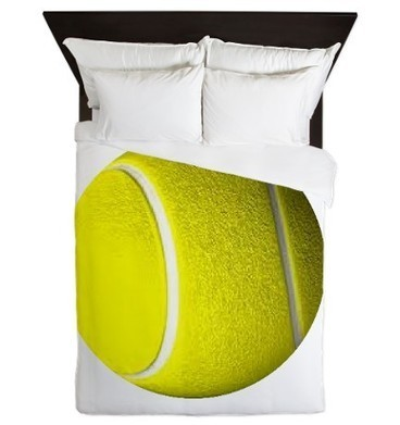 Tennis Sport Queen Duvet Cover on CafePress.com | iPhone Cases | Scoop.it
