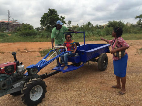 An Affordable Smart Tractor For African Farmers And Their Tiny Farms - Co.Exist | Inclusive Business and Impact Investing | Scoop.it