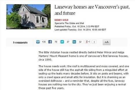 Vancouver Real Estate Market Makes Room for Practical Laneway Homes | Vancouver Canada Homes | Scoop.it