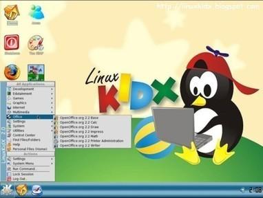 Siete distribuciones Linux especialmente pensadas para niños | new-top | Scoop.it