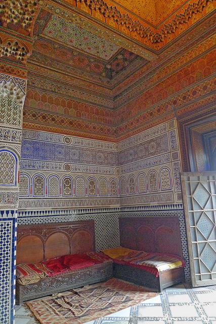 Wonderful stucco walls at Dar Si Said | Arts & luxury in Marrakech | Scoop.it
