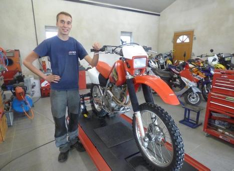 Motos : Nicolas Crespy a ouvert son garage - LaDépêche.fr | Actu, moto & politique | Scoop.it