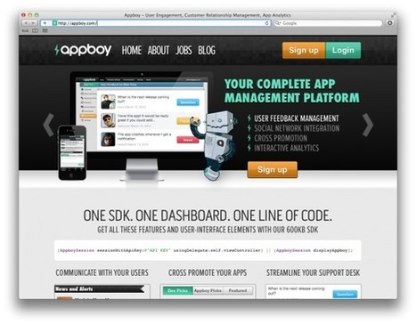 100 Tools to Develop the Next Killer iOS or Android App | DailyTekk | Education Technology - theory & practice | Scoop.it