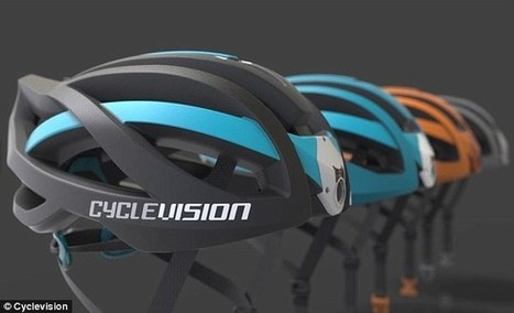 Hi-tech bike helmet has two cameras and gives 320 degree vision  | #Technology | Scoop.it